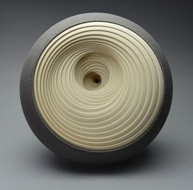 Matthew Chambers, 'Spiral Twist (grey/cream)', 2016