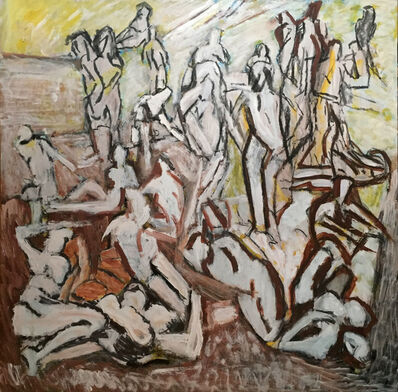 Cliff Holden, 'Bathers', 1975