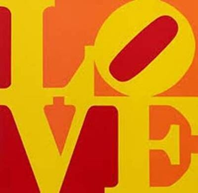 Robert Indiana, 'LOVE (Red Yellow Orange)', 1996