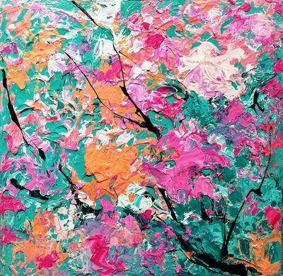 Marta Duran, 'Tapis de fleurs I', 2019
