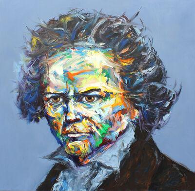 Bader Mahasneh, 'Beethoven', 2018