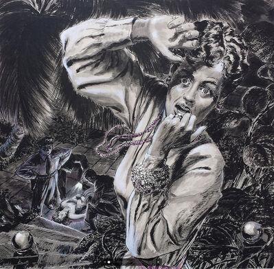 "Edwin Georgi, '     Saturday Evening Post Illustration. "" The Devil's Stronghold"" Original Magazine Story', 1960"