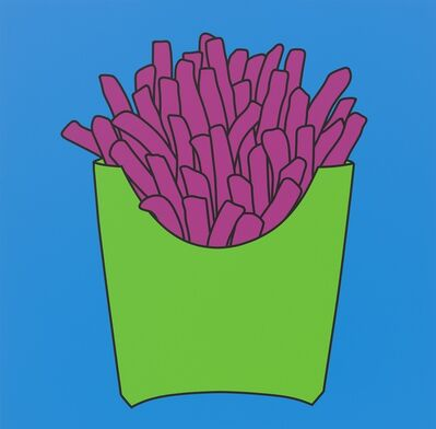 Michael Craig-Martin, 'Untitled (chips blue)', 2016