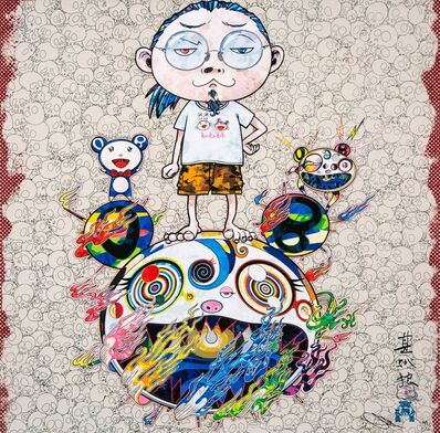 Takashi Murakami, 'Obliterate the Self and Even a Fire is Cool', 2013