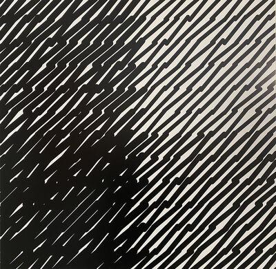 Vera Molnar, 'Segments inclinés A', ca. 1984-2019