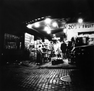 Arthur King, 'Washington Market, 205', 1955