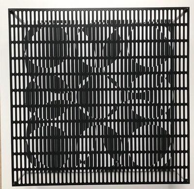 Antonio Asis, 'Vibration 9 petits et 4 grands cercles', 2010