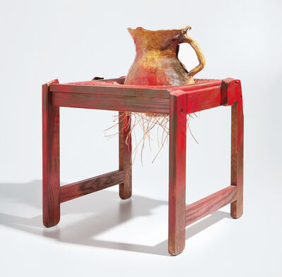 Jessica Jackson Hutchins, 'Red Wicker', 2009