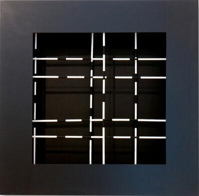 Dario Perez-Flores, 'Mobile trama noir et blanc', 1970