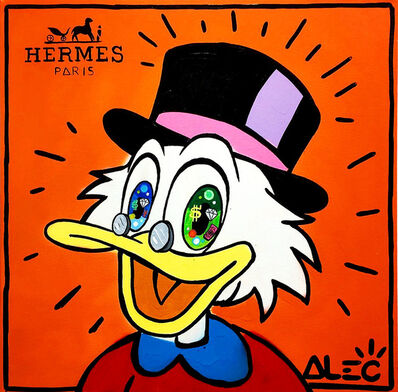 Alec Monopoly, 'Hermes Scrooge Big Eyes ', 2019