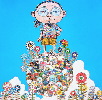 Takashi Murakami, 'Me Among the Supernatural', 2013