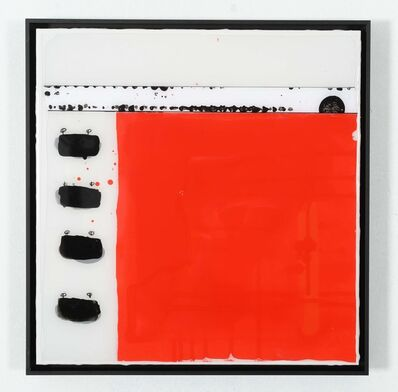 Edouard BUZON, 'Rouge 2', 2021