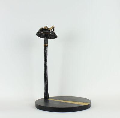 Orla De Brí, 'Girl On A High Mushroom', 2019