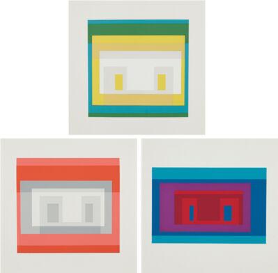 Josef Albers, 'Variants II, VI, and IX, from Ten Variants', 1967