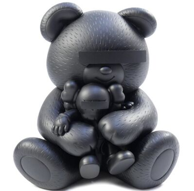 KAWS, 'Kaws x Undercover Bear (Black)', 2011