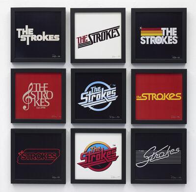 Warren Fu, 'The Strokes Logo Collection', 2019