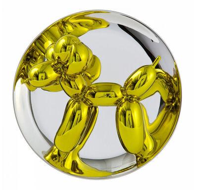 Jeff Koons, 'Jeff Koons, Balloon Dog (Yellow)', 2015