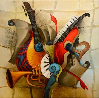 Emanuel Mattini, 'Mosaic Orchestration XI', 2010-2019
