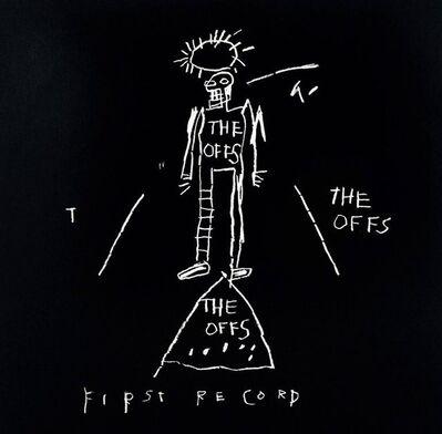 Jean-Michel Basquiat, 'The Offs First Record (Vinyl Record Art)', 1984