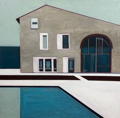 Melissa Chandon, 'Stone House with Pool', 2019