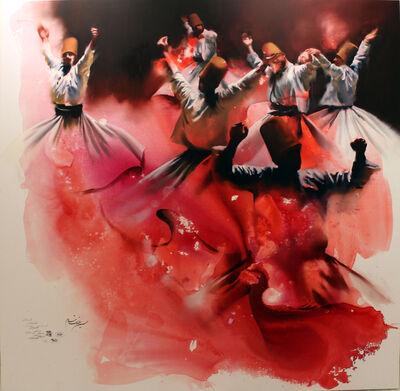 Hossein Irandoust, 'Red Smokes', 2019