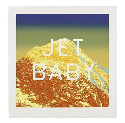 Ed Ruscha, 'Jet Baby', 2012