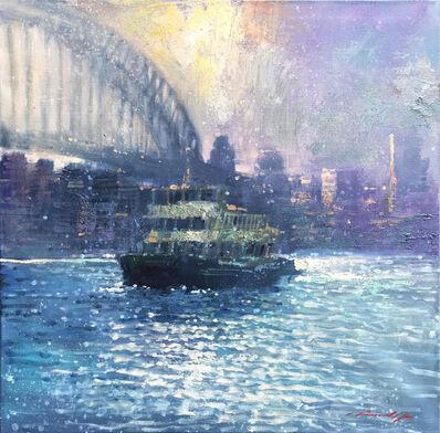 David Hinchliffe, 'Approaching the Quay', 2019