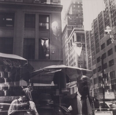 Bruce Cratsley, 'Madison Avenue Refelction(with Self), Paul Stuart Shop', 1989