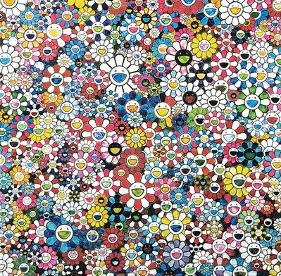Takashi Murakami, 'THE FUTURE WILL BE FULL OF SMILE! FOR SURE!', 2013