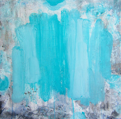 Lisa Fellerson, 'Beams Blue', 2016