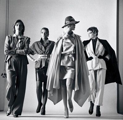 Helmut Newton, 'Sie Kommen (Dressed)', 1981