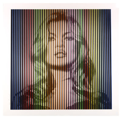 Mr. Brainwash, 'Fame Moss (Bright Rainbow)', 2015