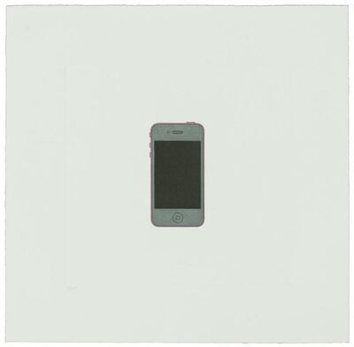Michael Craig-Martin, 'iPhone', 2013