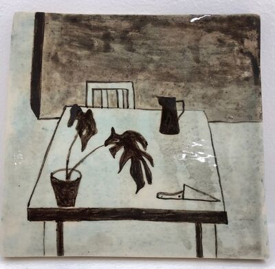 Noel McKenna, 'Table with plant', 2019
