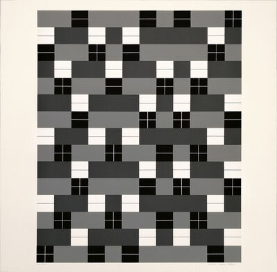 Anni Albers, 'Double Weave', 1925-1983