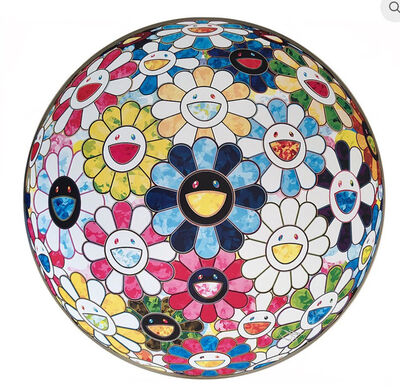 Takashi Murakami, 'Flower Ball: Painterly Challenge', 2016