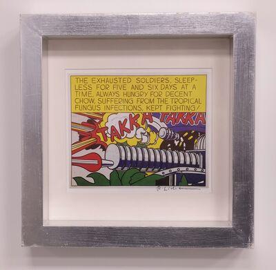 Roy Lichtenstein, 'Takka Takka', 1962
