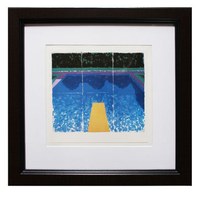 David Hockney, 'Paper Pools invitation', 1979