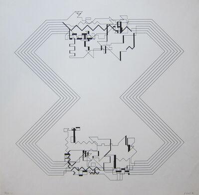 Manfred Mohr, 'P 22', 1970