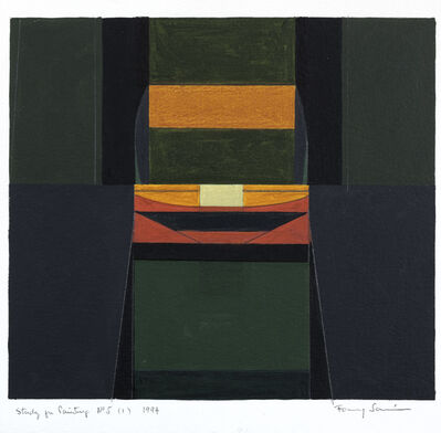 Fanny Sanin, 'Study for Painting, No.5', 1994