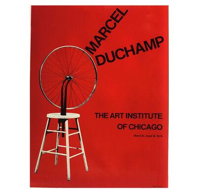 "Marcel Duchamp, '""Marcel Duchamp: The Art Institute of Chicago"", Exhibition Poster', 1974"