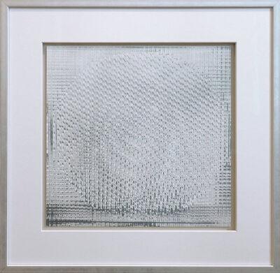 Heinz Mack, 'Rotor grau-weiss', 1970
