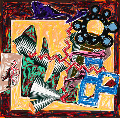 Frank Stella, 'Then Came a Fire and Burnt the Stick, after El Lissitzky's Had Gadya', 1984