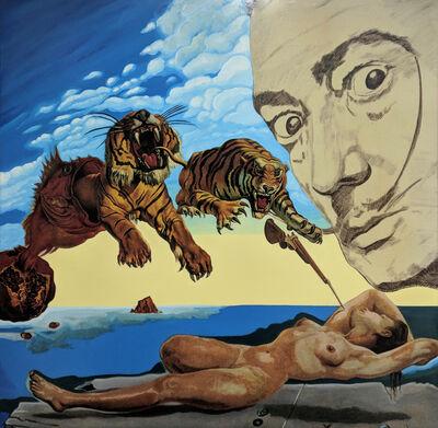 Steve Kaufman, 'HOMAGE TO DALI', 1995-2009
