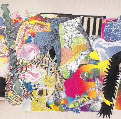 Frank Stella, 'Michael Kohlhaas (From an old chronicle) Panel 8', 2000