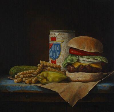 Hickory Mertsching, 'Pub Burger', 2019