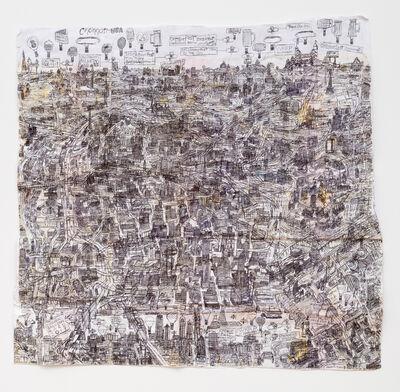 Courttney Cooper, 'Untitled (Cincinnati Map X)', 2020