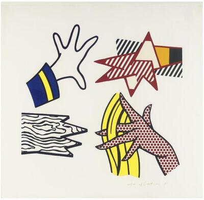 Roy Lichtenstein, 'Study of Hands', 1981