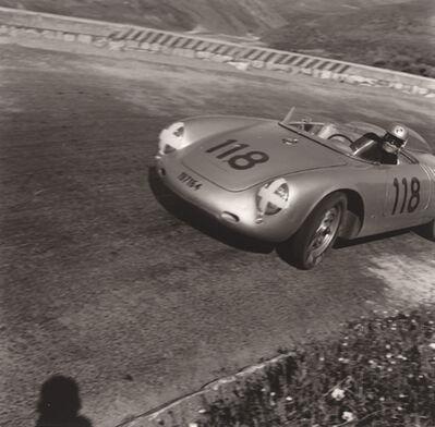 Jesse Alexander, 'Herbert Linge Porsche RSK, Targa Florio, Sicily, Italy', 1959