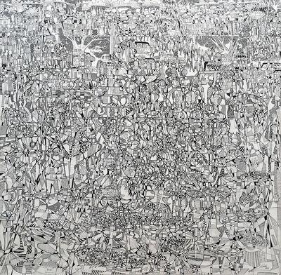 Houston Maludi, 'African Life 1', 2015